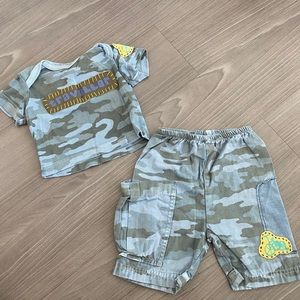 Naartjie 3m boys matching set